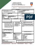 Formato de Planeacion Primero 2016 Sb