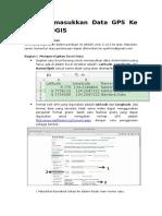 Cara Memasukkan Data Gps Ke Peta Di Qgis