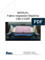 Manual Cmi 210zr