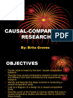 Causal Comparative Research (1)