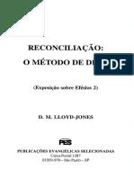 Reconciliação _ O Método de Deus - Exposição Sobre Efésios 2 - D. M. Lloyd-Jones.pdf