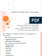 Substannce Related Disorder