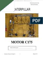 Manual Motor c175 Caterpillar Componentes Sistemas Admision Escape Refrigeracion Lubricacion Aceite Combustible Aire
