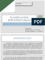 Planificación Estratégica BLOG