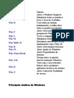 Atalho Tecla Windows