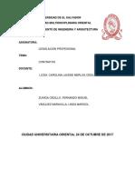 Contrato Tarea de Legislacion Imprimir