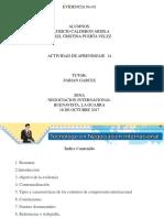 Caracteristicas de Los Incoterms Actividad 14 Evidencia 1
