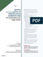 Aspectos Psicologicos de La Discapacidad Visual