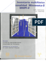 Manual MMPI-II.