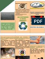 Triptico Contra La Quema de Contaminantes