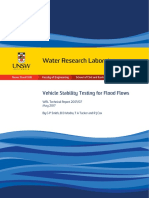 WRL TR2017 07 Vehicle Stability Testing for Flood Flows