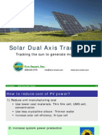 1 Eco $Mart Solar Dual Axis Tracker