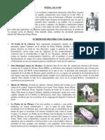 Petra Ascanio. Patrimonio Histórico de Mariara