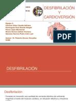 Disfibrilación y Cardioversión