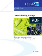 Chp for Existing Buildings Guidance on Design and Installation