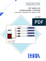 Vrf Based Air Conditioning Systems Performance Installation and Operation Notes
