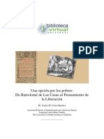 Carlos M. Coria-Sánchez - Una Opcióon Por Los Pobres - De Bartolomé de Las Casas Al Pensamiento de La Liberación