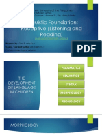 Linguistic Foundation