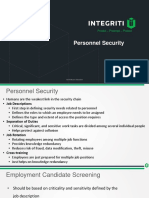 Chapter 1 - Personal Security