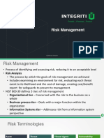 Chapter 1 - Risk Management