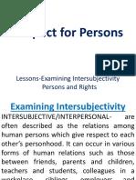 6 Inter Subjectivity 6 A
