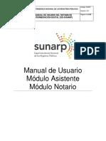 Manual de Usuario - Modulo Notario
