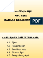 Topik 4.0 Isu Ejaan Dan Tatabahasa Bahasa Kebangsaan