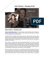 Album Kelly Clarkson – Meaning of Life