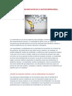 sociologia les creatividad e innovacion empresareal