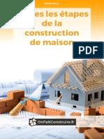 Toutes Les Etapes de La Construction de Maison