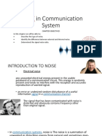 Chapter 2 - Noise in Communication System