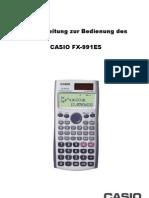 Kurzanleitung FX-991ES ONLINE