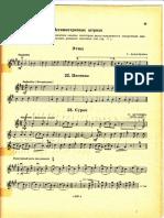 Marmota partituras de violin para niños