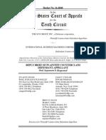 SCO vs. IBM - SCO brief