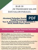 Bab 10 - Akuntansi Transaksi Salam Dan Paralel Salam