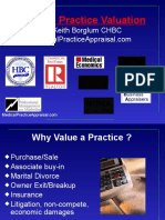 Medical Practice Valuation Appraisal