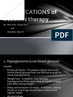 Complications of Insulin Therapy