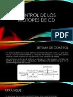 Control de Los Motores de CD