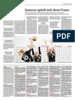 VBC gegen Volley Obwalden 28.10.