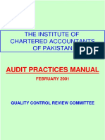 Audit Practices Manual