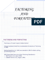 Factoring and Forfait Ing