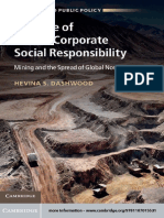 (Business and Public Policy) Professor Hevina S. Dashwood-The Rise of Global Corporate Social Responsibility_ Mining and the Spread of Global Norms-Cambridge University Press (2012).pdf