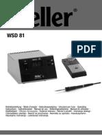 Soldering Station WSD 81 Weller 2