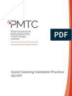 PMTC- Good Cleaning Validation Practice