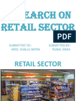 Presentation on Retail Sector 1