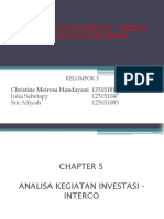 Kel 3 - Revisi Ppt 7juli2017 - Analisa Kegiatan Investasi-Interco & Operating