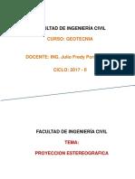 SEMANA 1 Introduccion Al Diseno y Proyec. Estereografica