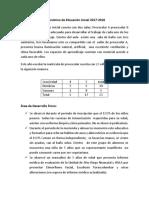 Diagnostico Preescolar B Los Caracoles 2017-2018