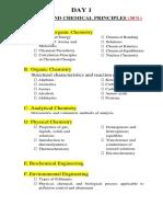 Chemical Engineering Board Exam