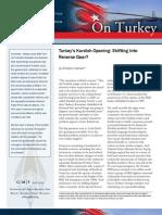 Turkey's Kurdish Opening